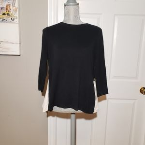 COS layered look sweater